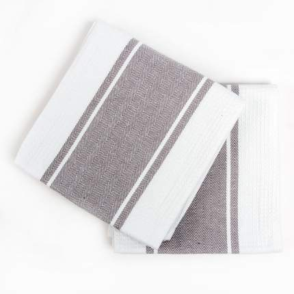 Кухонное полотенце Arya Pena Цвет: Серый (50х70 см - 2 шт)