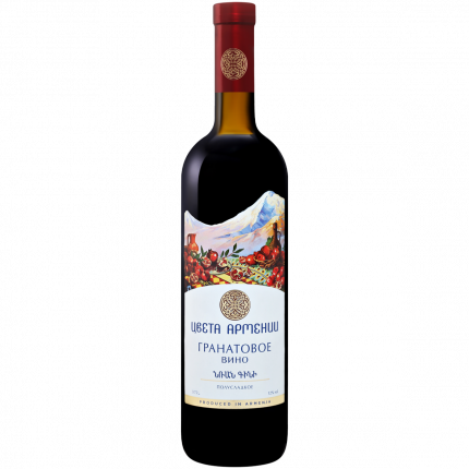 Вино Цвета Армении Гранат кр.п/сл.0,75