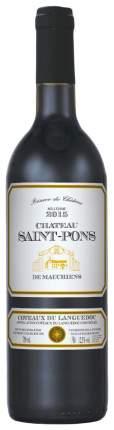 Вино Шато Сен-Понс кр.сух.0,75