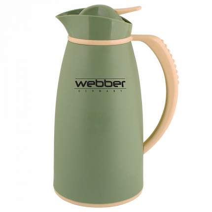 Термос-кувшин WEBBER 31004/13S, 1,0 л ,серо-зеленый (12)