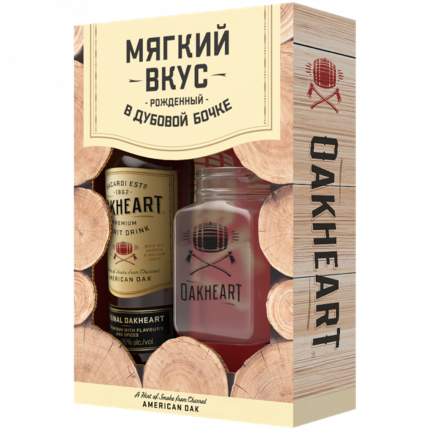 Нап.сп.OAKHEART ORIGINAL. 0,7л +1cтакан