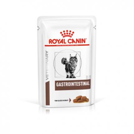 Влажный корм для кошек ROYAL CANIN Veterinary Gastrointestinal, мясо, 12шт, 85г