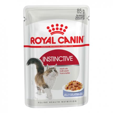 Влажный корм для кошек ROYAL CANIN Feline Health Nutritiom Instinctive, мясо, 24шт, 85г