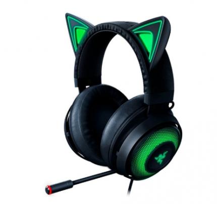 Игровые наушники Razer Kraken Kitty Edition, Black