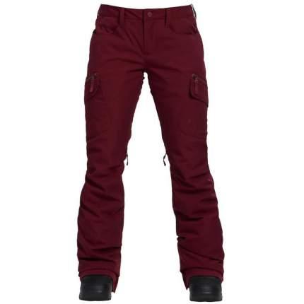 Спортивные брюки Burton Wb Gloria Pt, sangria, XL