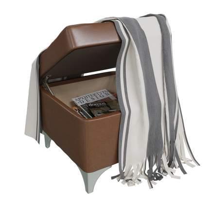 Банкетка Гранд-Кволити 6-5113-кор Жозефина-2, коричневая, 46х46х45 см