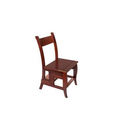 Стул стремянка Мебель Welcome СТ-4-КД, коричневый