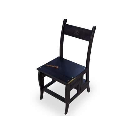 Стул стремянка Мебель Welcome СТ-4-ВН, коричневый