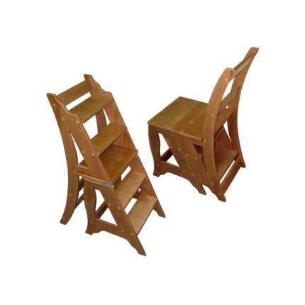 Стул стремянка Мебель Welcome СТ-5-ОЛ, коричневый