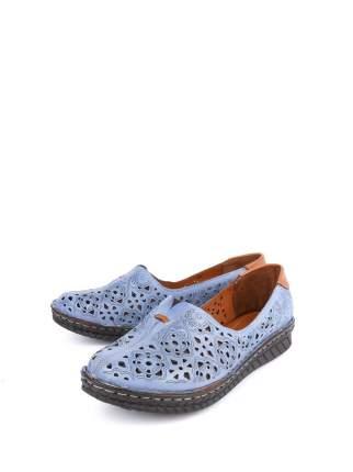Туфли женские Longfield 022-4405-1-08-04 синие 37 RU