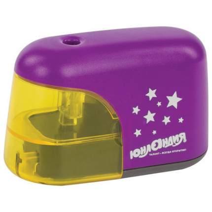 """Точилка электрическая """"Stars"""", питание от 4 батареек АА, цвет корпуса фиолетовый"""