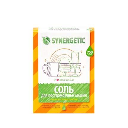 Соль для посудомоечных машин SYNERGETIC высокой степени очистки, 0,75 л.