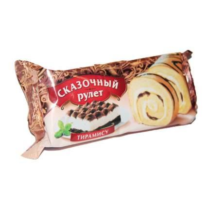 Рулет Раменский Сказочный бисквитный с кремом тирамису, шоколад 200 г