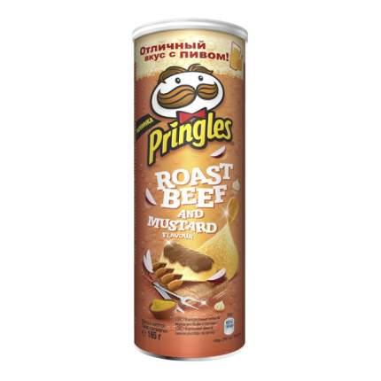 Чипсы Pringles ростбиф в горчице 165 г