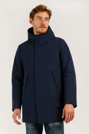 Зимняя куртка мужская Finn Flare A19-42029 темно-синяя 3XL