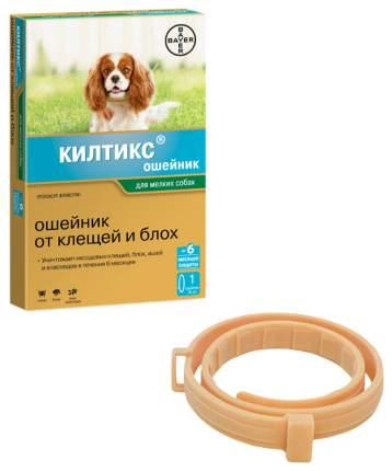 Ошейник для мелких собак против блох, власоедов, вшей, клещей Bayer Килтикс желтый, 35 см