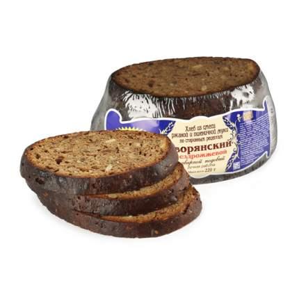 Хлеб Рижский Хлеб Дворянский ржано-пшеничный заварной подовый бездрожжевой в нарезке