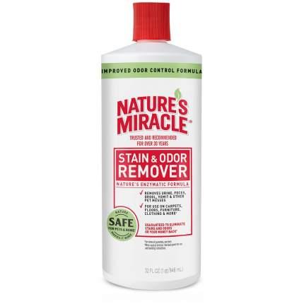 Уничтожитель пятен и запахов Nature's Miracle Stain&Odor Remover, универсальный, 947мл