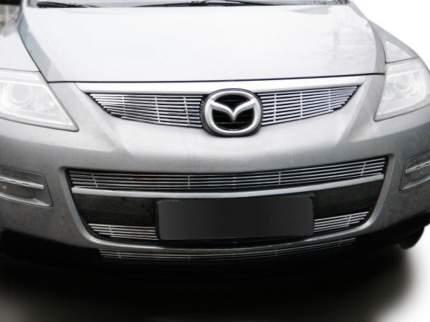 Комплект решеток радиатора для Mazda CX-9 Тип Billet Grille, нержавейка