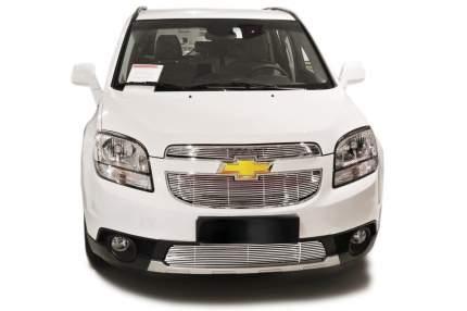 Накладка решетки бампера Fancycar для Chevrolet Orlando (2010-2015), нижняя, профиль 6,5 м