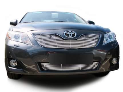 Накладка решетки бампера Fancycar для Toyota Camry XV40 (2006-2010), нижняя, профиль 6,5 м