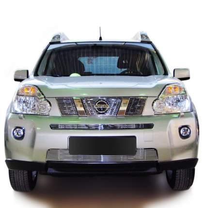 Накладка решетки радиатора Fancycar для Nissan X-Trail T31 (2007-2011), верхняя, профиль 6