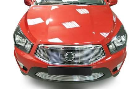 Накладка решетки бампера Fancycar для SsangYong Actyon Sports II (2012+), нижняя, профиль