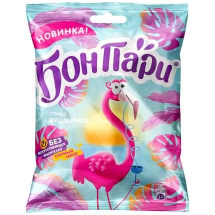 Мармелад жевательный Бон Пари Страна фламинго фигурный со вкусом фруктов 100 г