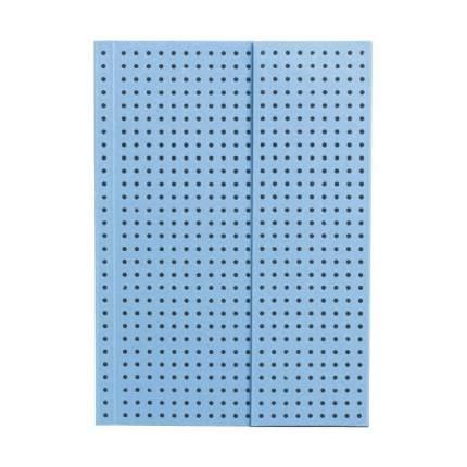 Записная книжка PaperOh Circulo A6 Синий на Сером
