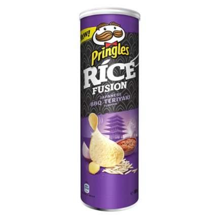 Чипсы Pringles Рисовые Соус Барбекю терияки по японски 160 г