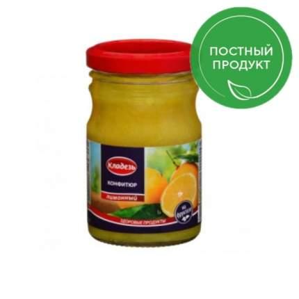 Конфитюр Кладезь на фруктозе лимонный 210 г