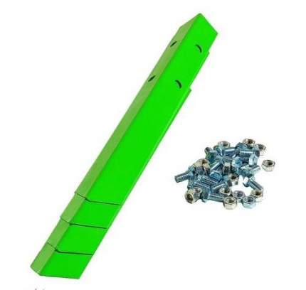 Клумба оцинкованная Электромаш квадратная 1000х1000х150мм зеленая