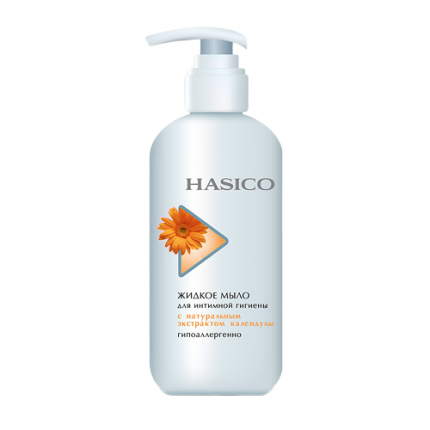 Жидкое мыло для интимной гигиены HASICO Календула 250мл