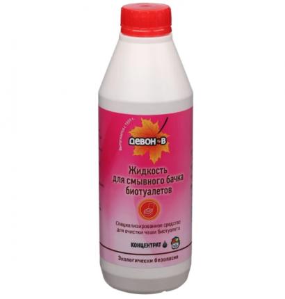 Жидкость моющая Девон-В 0.5л для биотуалетов (для верхнего бака)