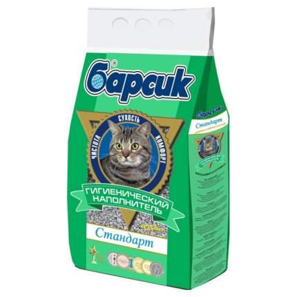 Впитывающий наполнитель для кошек Барсик Стандарт бентонитовый, 3.1 кг, 4.54 л
