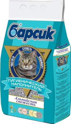 Впитывающий наполнитель для кошек Барсик, Альпийская свежесть, 3.1 кг, 4.54л