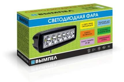 Светодиодная фара ВЫМПЕЛ WL-118BS дальний свет, мет. корп. 6 диодов