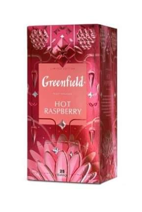 Чайный напиток Greenfield Hot Raspberry 25 пакетиков