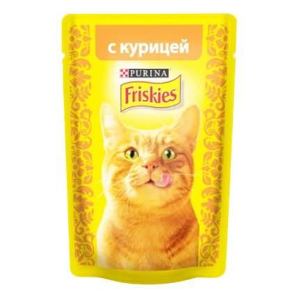 Влажный корм для кошек Friskies, с курицей, 85г