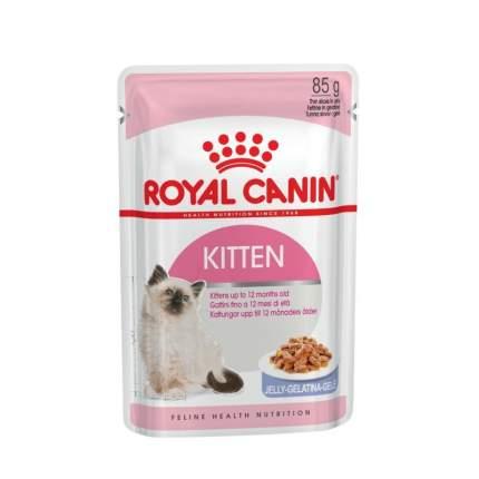 Влажный корм для котят ROYAL CANIN Kitten, мясо в желе, 85г
