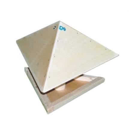 Уличная кормушка для птиц Диорит Зонтик, деревянная, 25х32х24 см