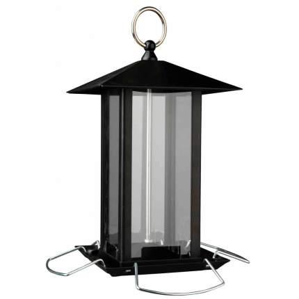 Уличная кормушка для птиц TRIXIE Food Dispenser, черная, 19x20x19 см