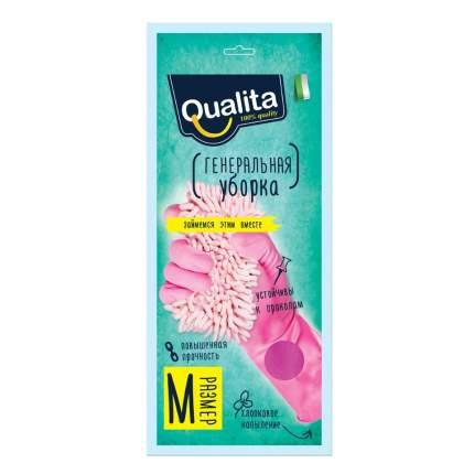Перчатки латексные QUALITA Генеральная уборка,M