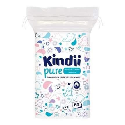 Диски гигиенические для детей и подростков CLEANIC Kindii 60 шт