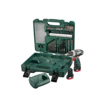 Аккумуляторная дрель-шуруповерт Metabo PowerMaxx BS Basic 10.8 Set 600080880