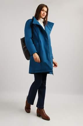 Пальто женское Finn Flare B19-11020 синее M