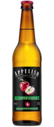 Сидр яблочный APPELISH 5,9 %0,5л ст