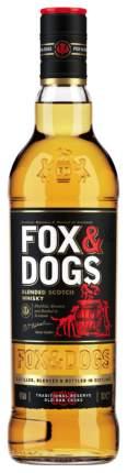 Виски Фокс энд Догс 40% 0,7