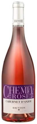 Вино Совьон Каберне д Анжу Wроз.п/с 0,75