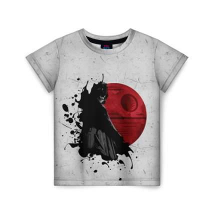Детская футболка ВсеМайки 3D Дарт Вейдер и Звезда смерти, размер 164